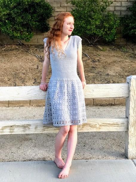 Free Crochet Dress Pattern Round Up - The Loopy La