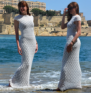 Ravelry: Unquestionable Maxi Dress pattern by conceptcreative.sto