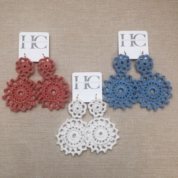 Crochet Earrings – Hudson Cart