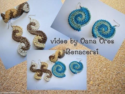 crochet earrings & bracelet - YouTu