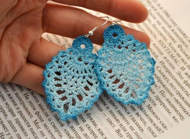 Crochet Pineapple Earrings Pattern ⋆ Crochet Kingd