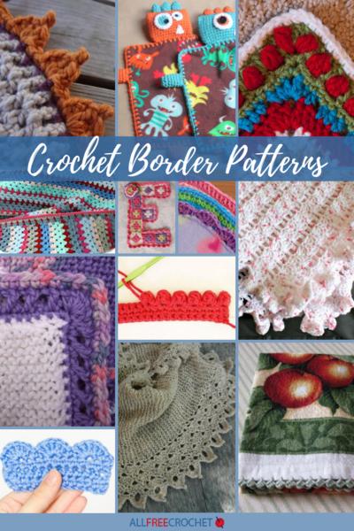30+ Crochet Border Patterns (and Edging!) | AllFreeCrochet.c