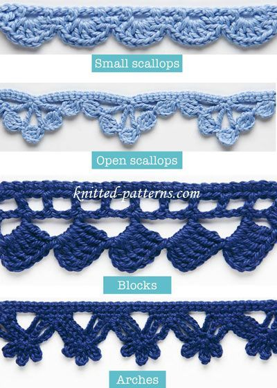 crochet edging 20 + crochet free edging patterns you should know .