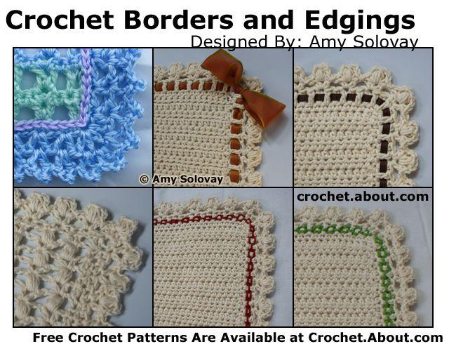 Baby Blanket Crochet Edgin