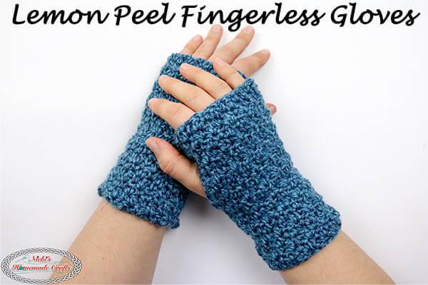 Fingerless Gloves Crochet Pattern and Tutorial - Fr