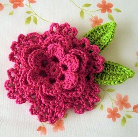 10 Adorable Free Crochet Flower Patterns | Crochet flower patterns .