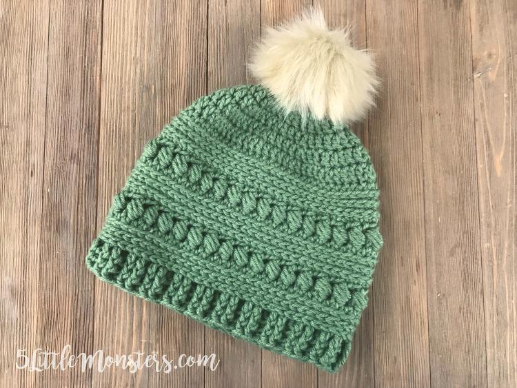 Free Pattern] Lovely Bead Stitch Crochet Hat - Knit And Crochet Dai