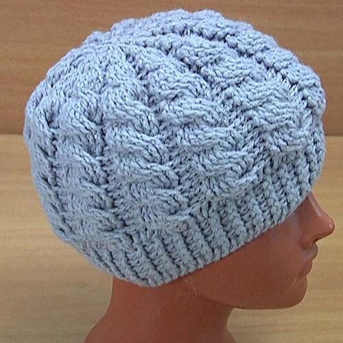 How to Crochet Cable Hat Tutorial | AllFreeCrochet.c