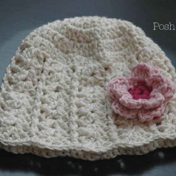 Free Crochet Lace Hat Patte
