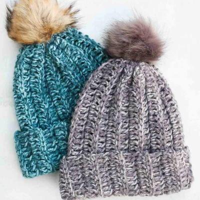 50+ Beginner Crochet Hat Patterns (Free!) | AllFreeCrochet.c