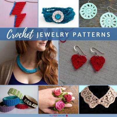 62 Crochet Jewelry Patterns (Free) | AllFreeCrochet.c