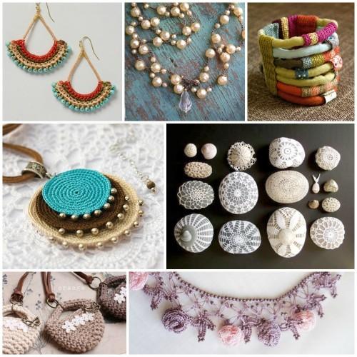 Crochet Jewelry Inspiration - Nunn Desi