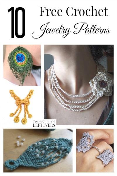 10 Free Crochet Jewelry Patter