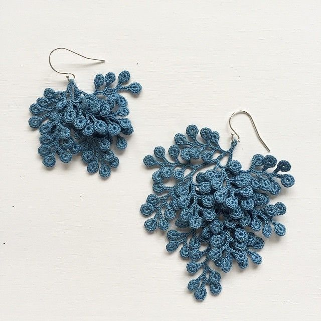 Organic Micro Crochet Jewelry Artist Fujitamiho (Miho Fujita .