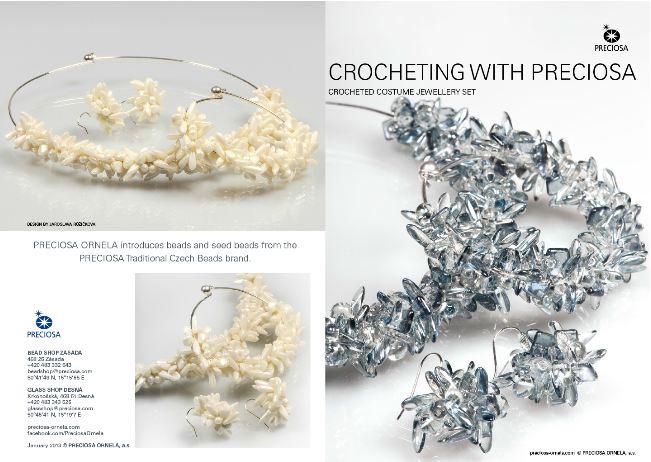 Easy Crochet Jewelry Tutorial Using Elastic - The Beading Gem's .