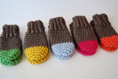 Two Tone Baby Mittens Crochet Pattern {Baby 0-3 Months} | Baby .