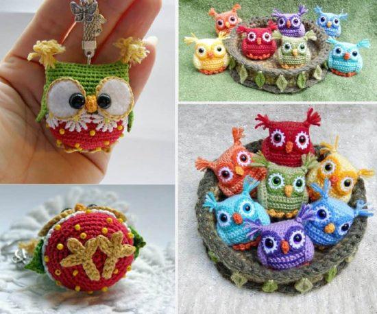 Crochet Baby Owls Pattern Free Video Tutorial Great ide