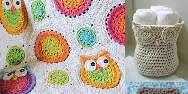 Crochet Owl Patterns and Projects - Crochet N