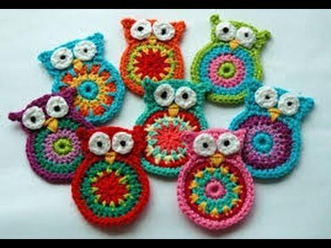 Crochet Owl Pattern Instruction - YouTu