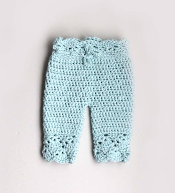 Crochet Pattern Crochet Pants Pattern Crochet Baby Pants | Et