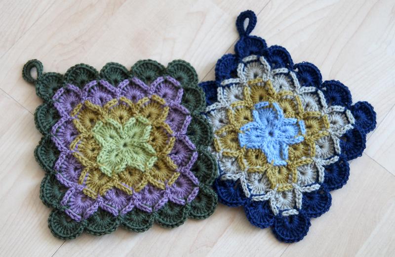 Wool eater crochet potholders | Leikit