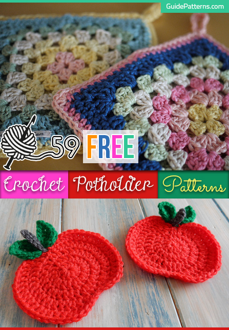 59 Free Crochet Potholder Patterns | Guide Patter