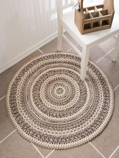 Crochet Rug Patterns - ANNIE'S SIGNATURE DESIGNS: Pebble Beach .