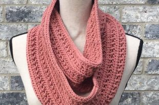 Crochet Scarf PDF Pattern Crochet Infinity Scarf Pattern   Et