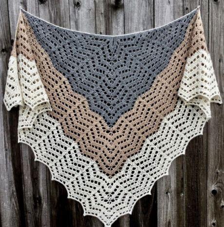 Crochet Shawl Pattern Diagrams ⋆ Crochet Kingd