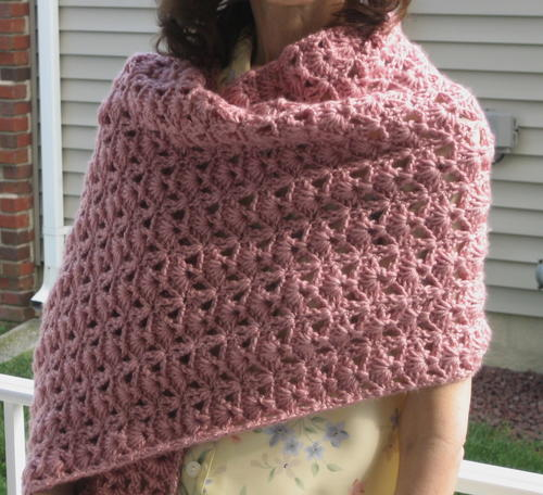 Princess Diana Vintage Crochet Shawl Pattern | AllFreeCrochet.c