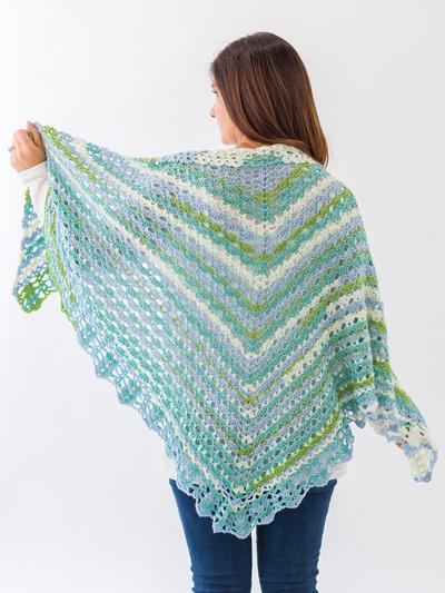 Crochet Shawl & Wrap Patterns - Shells & Lace Shawl Crochet Patte