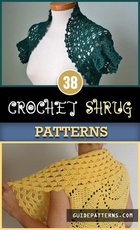 38 Crochet Shrug Patterns | Guide Patter