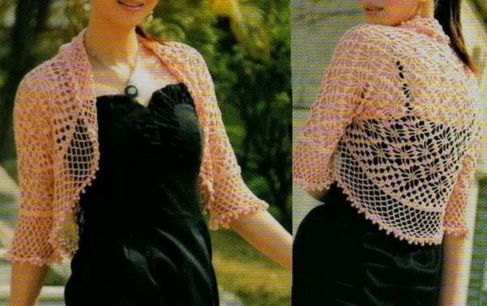 Free Lacy Crochet Shrug Patterns | Crochet Sweater: Bolero Shrug .