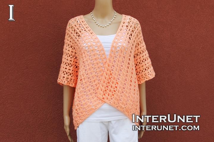 Crochet shrug pattern | interun