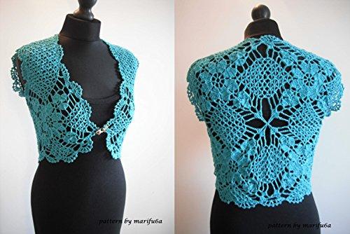 crochet mint bolero shrug pattern pdf by marifu6a: crochet mint .