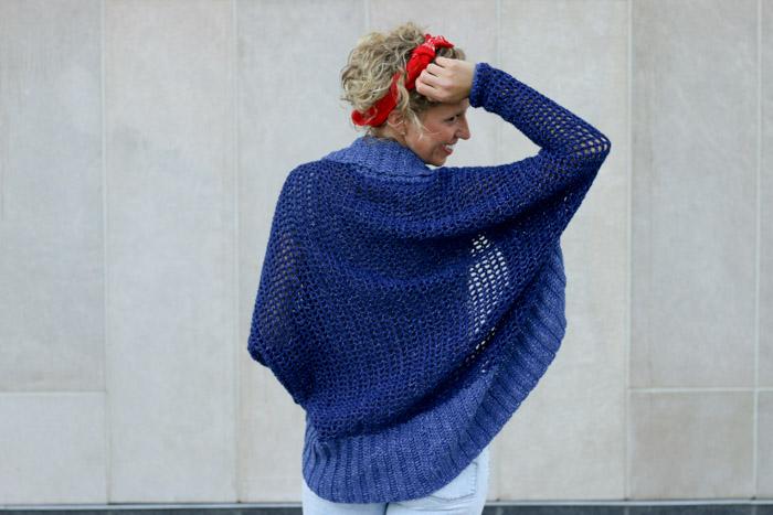 Lightweight + Easy Crochet Shrug - Free Pattern » Make & Do Cr