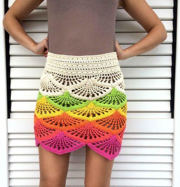Crochet skirt pattern free | Free Crochet Patter