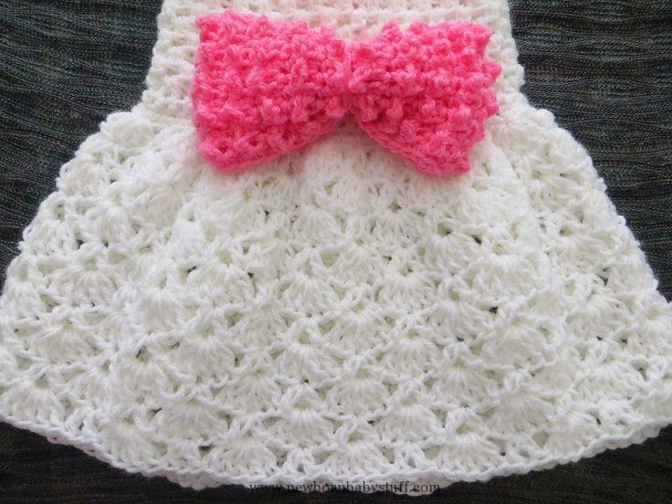 Crochet Baby Dress baby crochet skirt pattern | ... , Crochet Baby .