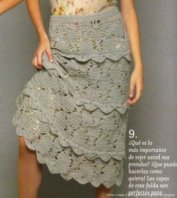 Ruffled Crochet Skirt Pattern ⋆ Crochet Kingd