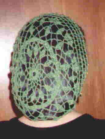 snood hair net pattern free   Free Crochet Snood Pattern   Snood .