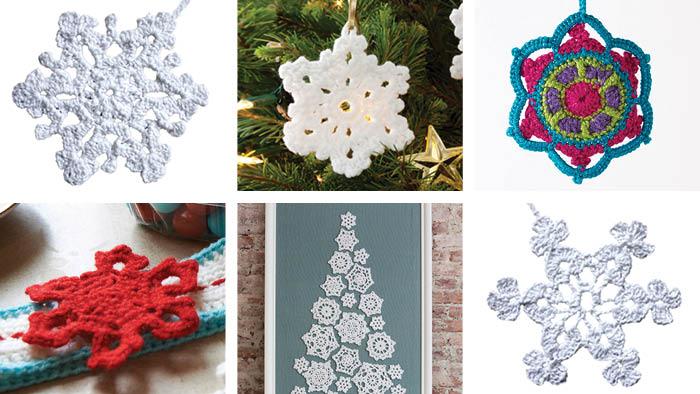 14 Crochet Snowflakes Patterns   The Crochet Cro