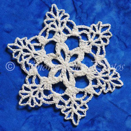 SnowMon - Snowcatcher   Crochet snowflake pattern, Crochet .