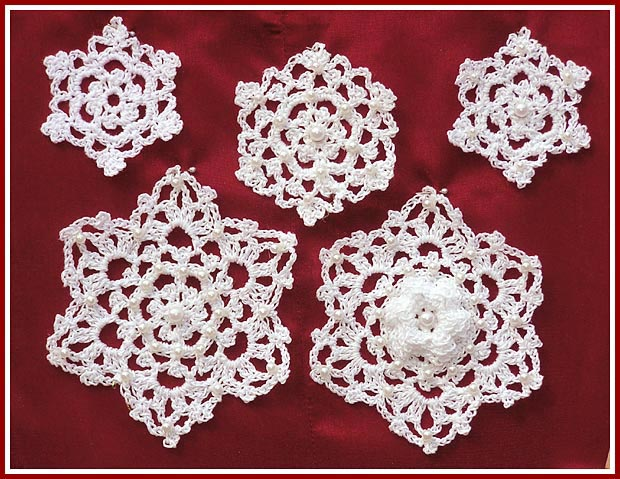 Treasured Heirlooms Crochet Irish Crochet Snowflak