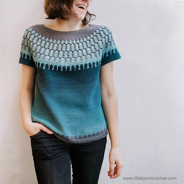 Ravelry: Huldra Sweater pattern by Tatsiana Kupryianch