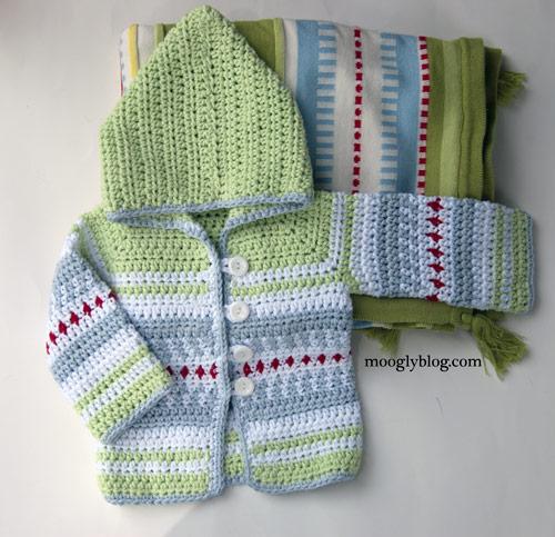 Sven Sweater: the Perfect Crochet Baby Cardiga