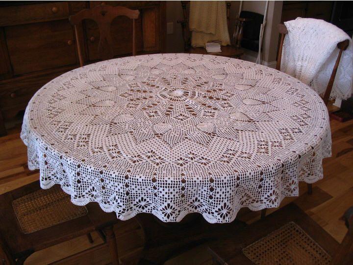 Crochet....Crochet | Crochet tablecloth pattern, Crochet .