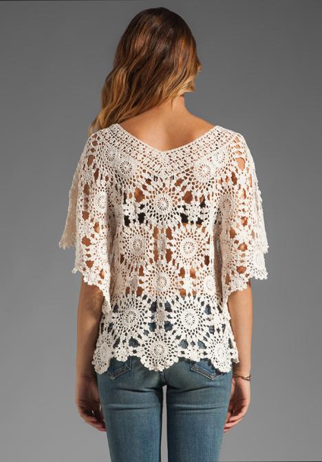 Crochet tunic PATTERN, designer crochet tunic pattern, beach tunic .