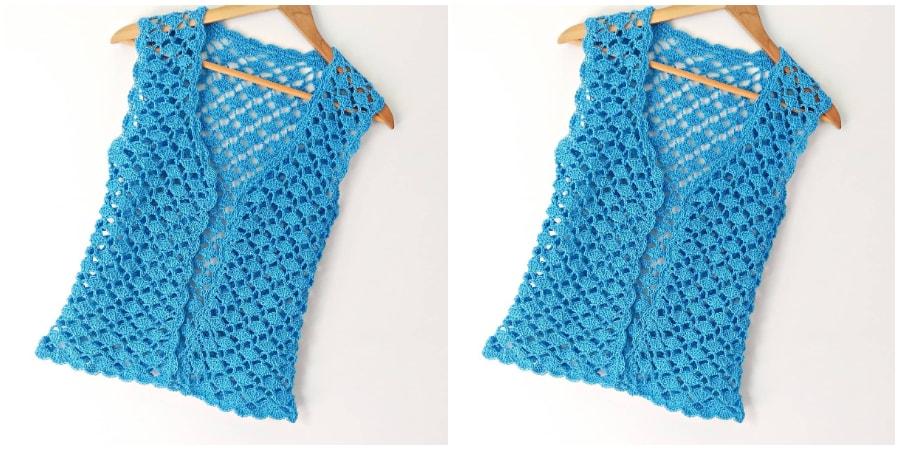 Crochet Vest Tutorial - Learn to Crochet - Crochet Kingd