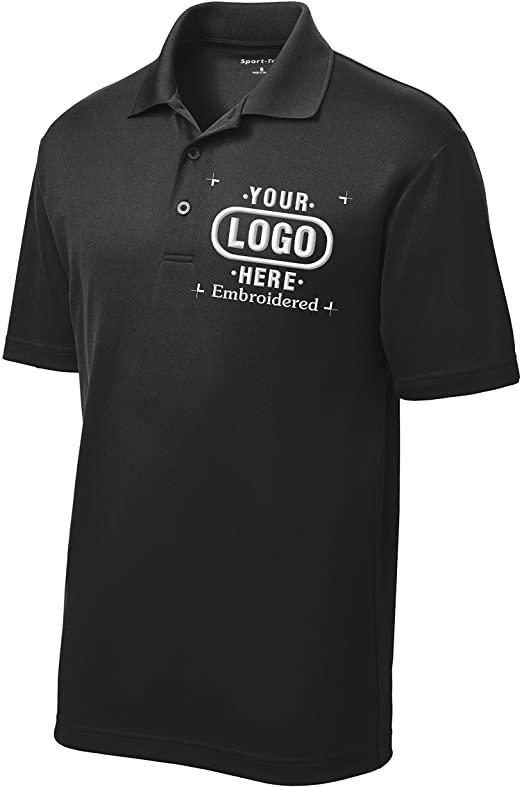 Men's Custom Golf Shirt. Custom Embroidered Polo Shirt/Golf Shirt .