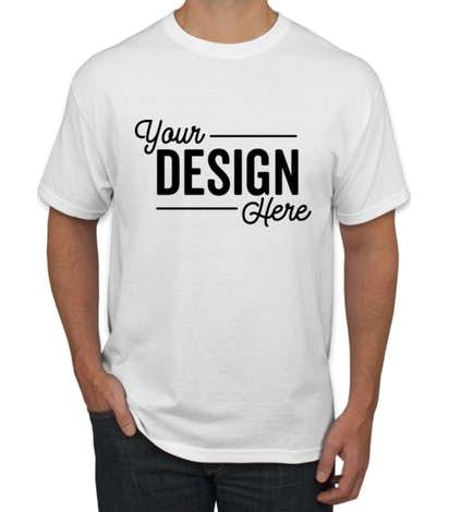 Custom Hanes EcoSmart® 50/50 T-shirt - Design Short Sleeve T .